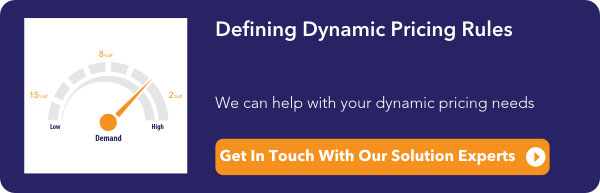 Defining Dynamic Pricing Rules