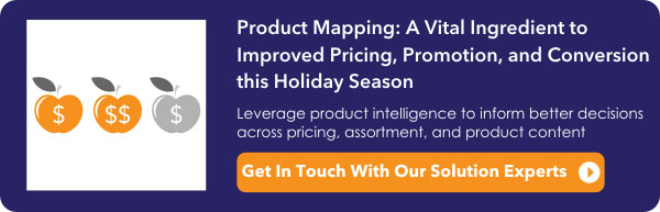 Product Mapping: A vital ingredient to improved pricing, promotion, and conversion this Holiday Season